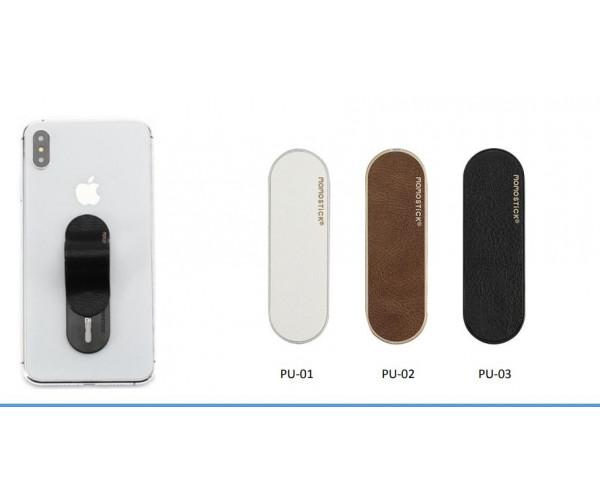 "Model ""PU Leather"" Phone holder stick"