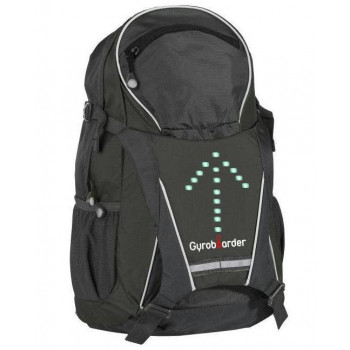 Backpack with led turn signals (LED arrows)