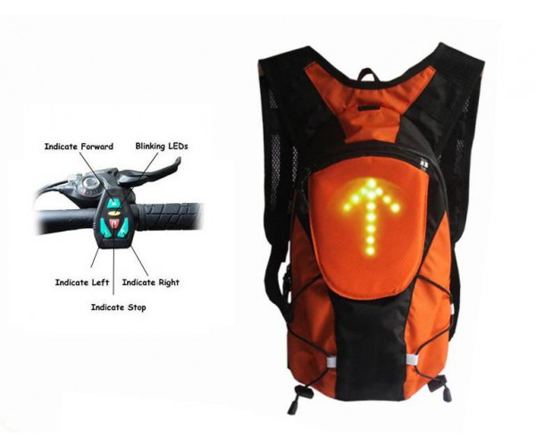 Led arrow-bike,motorcycle backpack