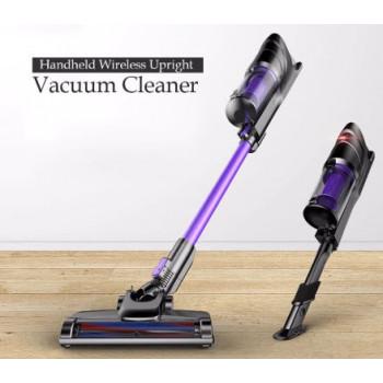 Silent wireless vacuum cleaner