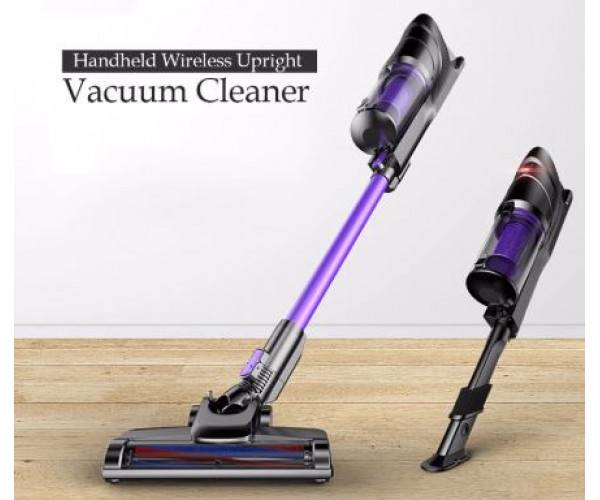 Silent wireless vacuum cleaner