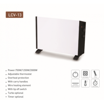 Energy saving convector heater
