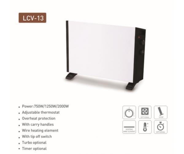 Energy saving convector heater
