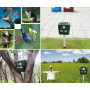 Green Multifunctional Bird and Animal Repeller