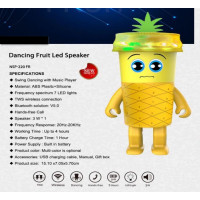 "Dancing luminous Speaker ""Fruit"""