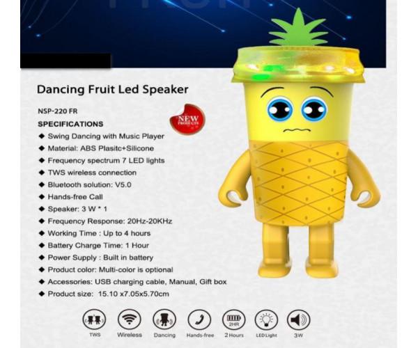 """Dancing luminous Speaker """"Fruit"""""""