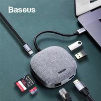 Baseus Fabric Series 7 in 1 Type-C Multifunctional HUB Adapter
