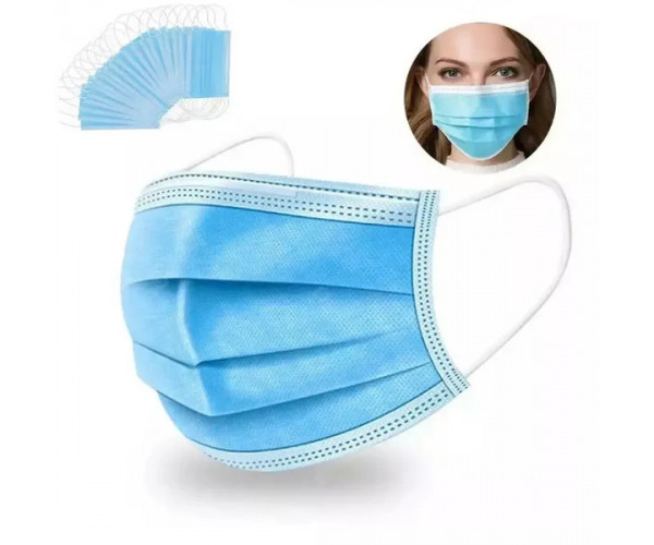 Medical three-layer disposable mask  Wholesale