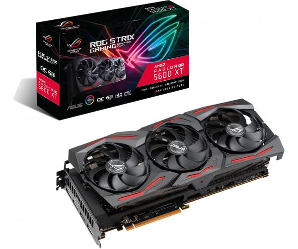 Asus Radeon RX 5600 XT ROG Strix graphics