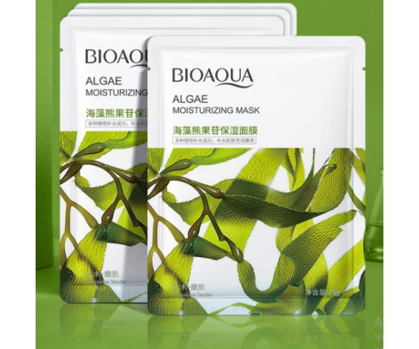 Bioaqua Moisturizing Seaweed Arbutin Facial Mask, 25 g.