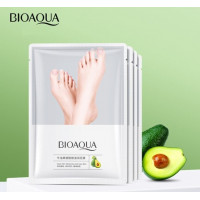 BIOAQUA Avocado Oil Socks Restructuring Foot Mask 35g